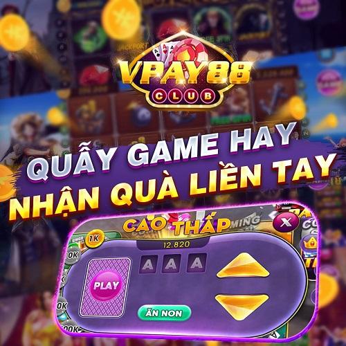 VPay88 Club giftcode game 11/1/2020: Chơi game hay – Nhận quà ngay