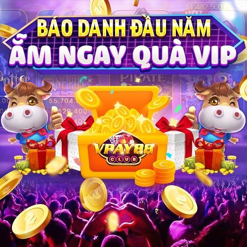 VPay88 Club giftcode game 6/1/2020: Thứ hai đầu năm – Nhận ngay quà Vip