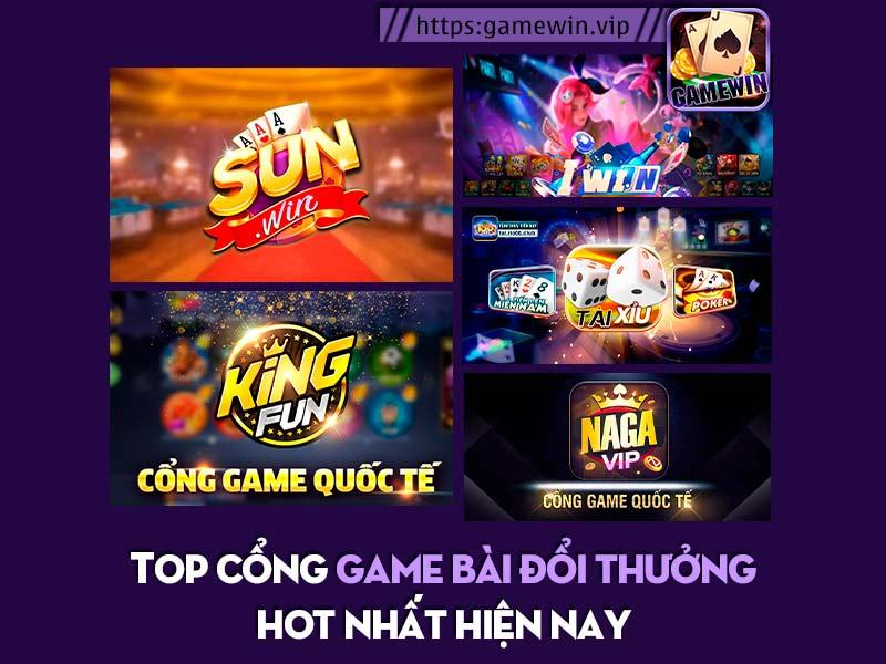 Top 5 cổng game bài đổi thưởng hot nhất 2021 hiện nay