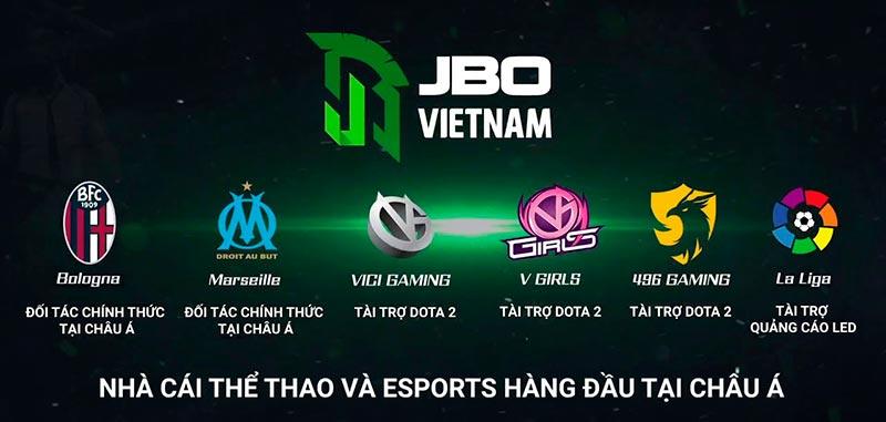 JBO là gì? JBO Vietnam – Nhà cái cá cược Esport uy tín hàng đầu