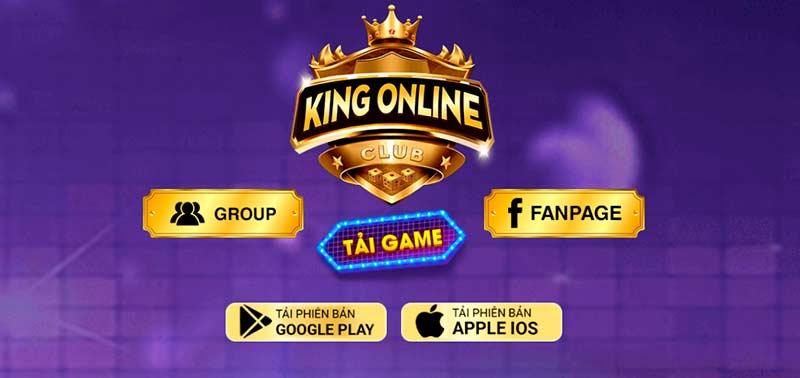 KingOnline Club – Cổng game hoàng gia đổi thưởng trực tuyến