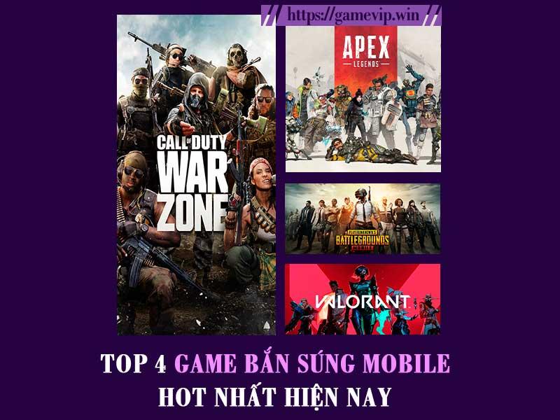 Top 4 game bắn súng mobile hot nhất hiện nay không thể bỏ qua